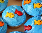 Pool Party Cupcake Ideas
