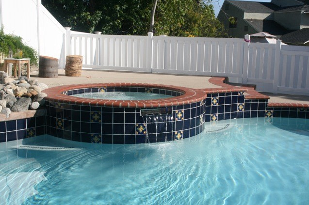 Pool tile and coping ideas pool design ideas for Pool tile designs