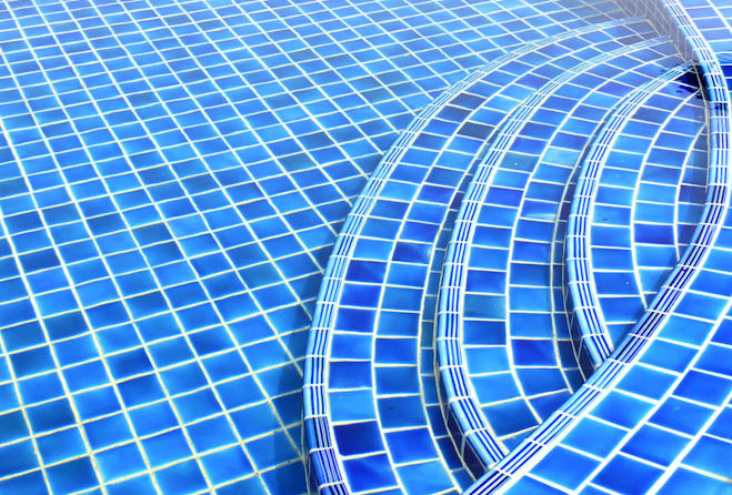 Pool tile mosaic designs pool design ideas for Pool design tiles