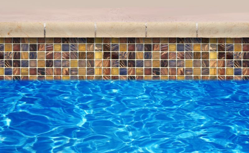 Pool waterline tile ideas pool design ideas for Pool tile designs