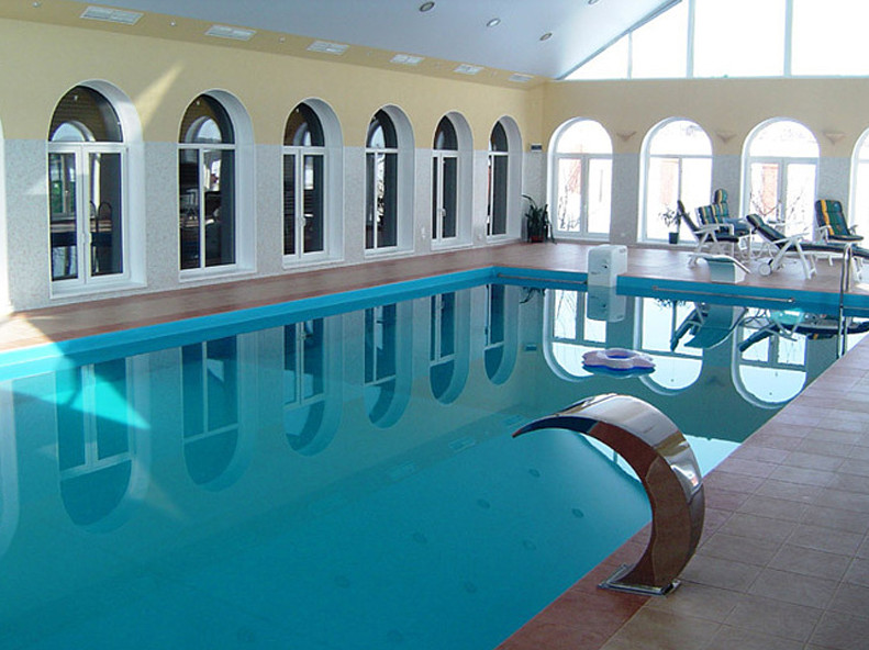Residential indoor swimming pools pool design ideas for Residential swimming pool designs