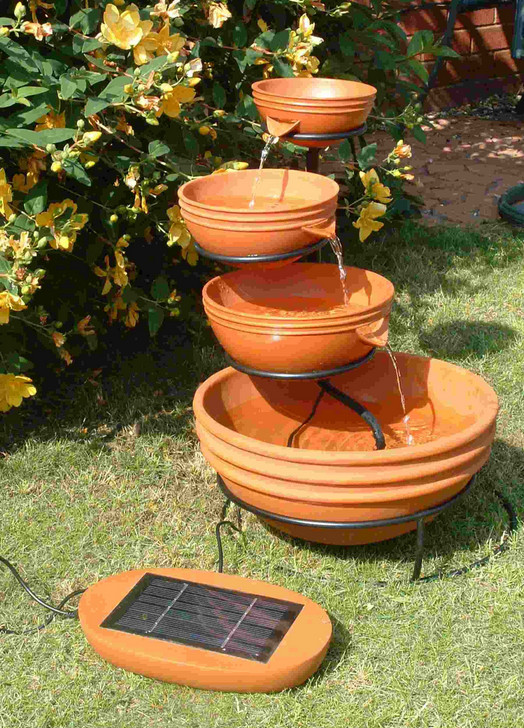 Easy Outdoor Water Features : Backyard Water Feature Ideas Simple Backyard Water Features