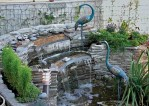 Small Backyard Ponds Waterfalls Pictures