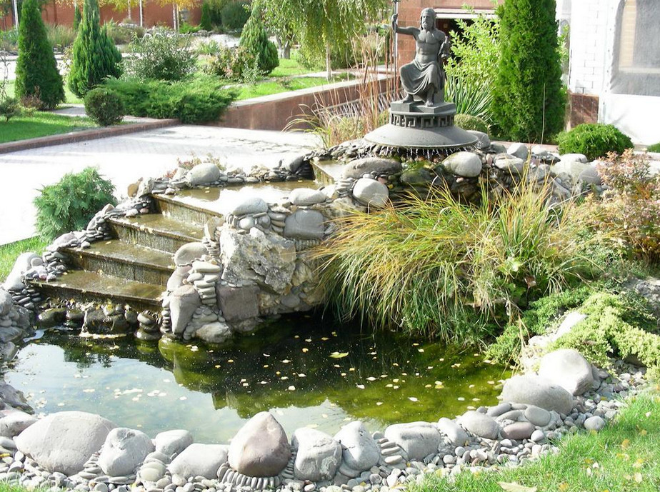 Small garden waterfall ideas pool design ideas for Making a garden pond and waterfall