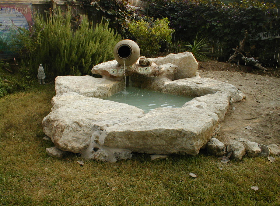 Small pond waterfall design ideas pool design ideas for Pond features