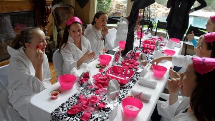 Spa Birthday Party Activities
