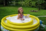 Summer Escapes Inflatable Pool