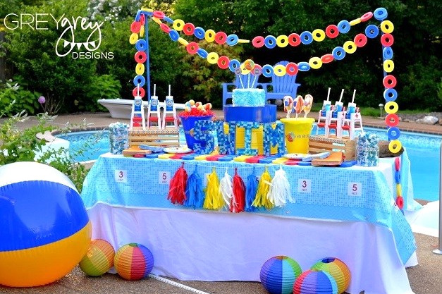 Three Considerable Beach Pool Party Ideas For The Teen Groups Pool Design Ideas