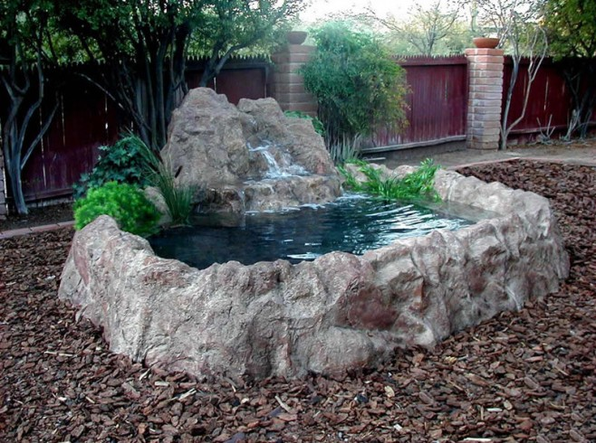 Waterfall for Small Garden Pond