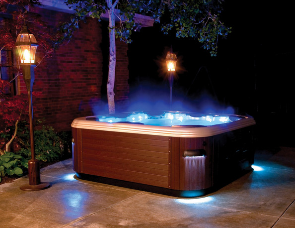 Above Ground Hot Tub Design Ideas