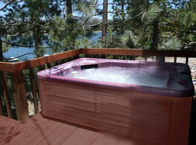 Above Ground Hot Tub Designs