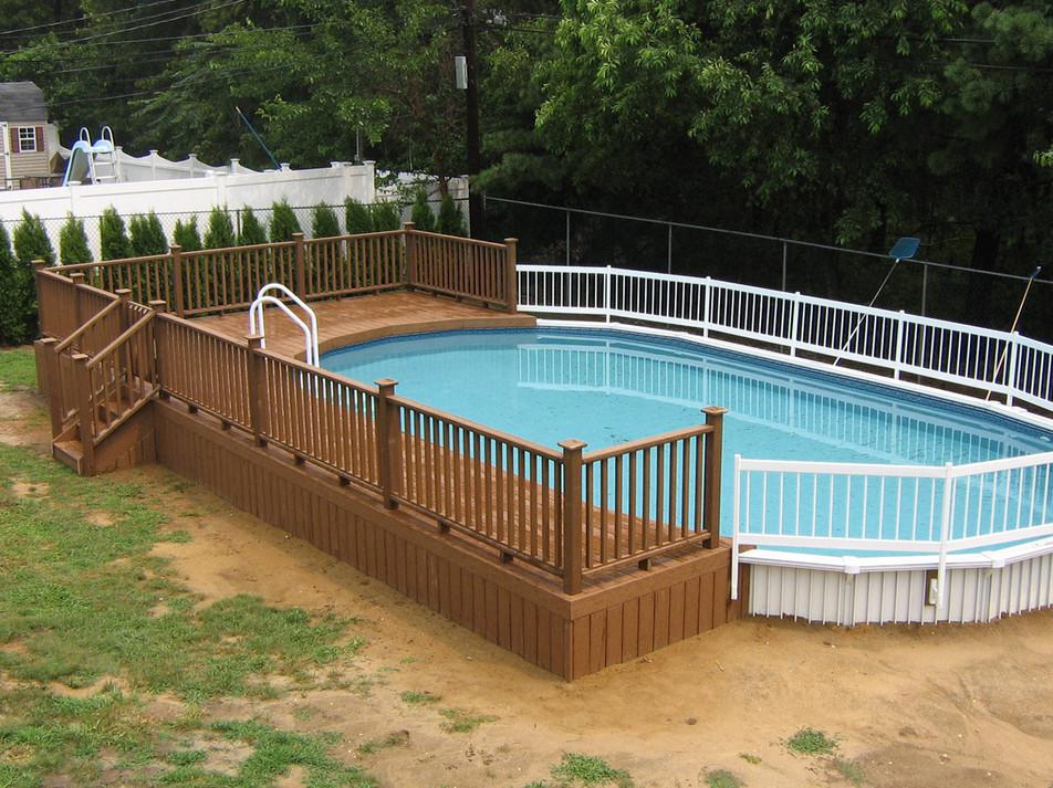 Above Ground Inground Swimming Pools