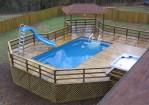 Above Ground Pool Slide Ideas