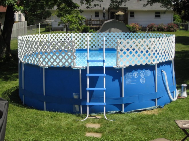 Above Ground Swimming Pool Fencing
