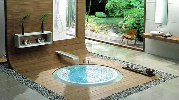 Backyard Jacuzzi Tubs