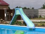 Backyard Pool Water Slides