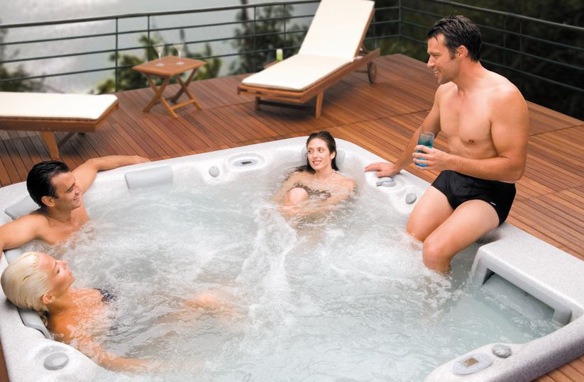 Backyard Spas and Hot Tubs