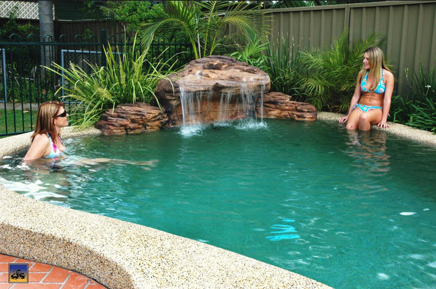 Top Rated Pool Waterfall Ideas With Do It Yourself Plans | Pool