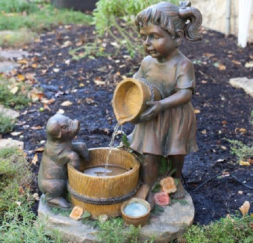 Ceramic Outdoor Fountains