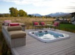 deck plans with hot tub