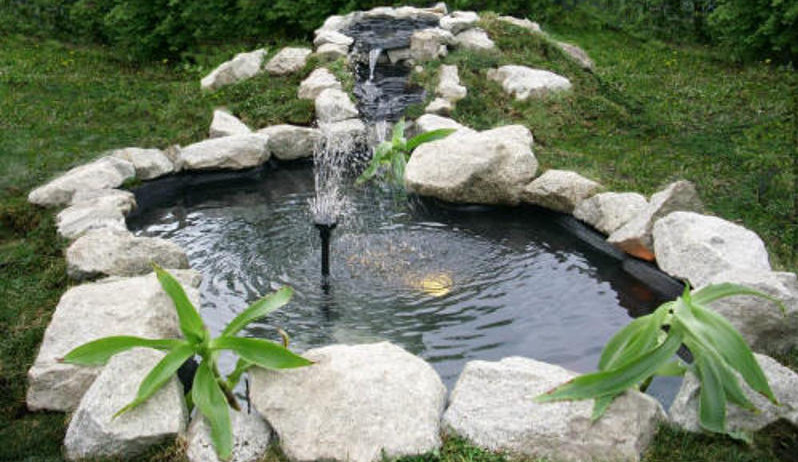 diy fountain pond pool design ideas
