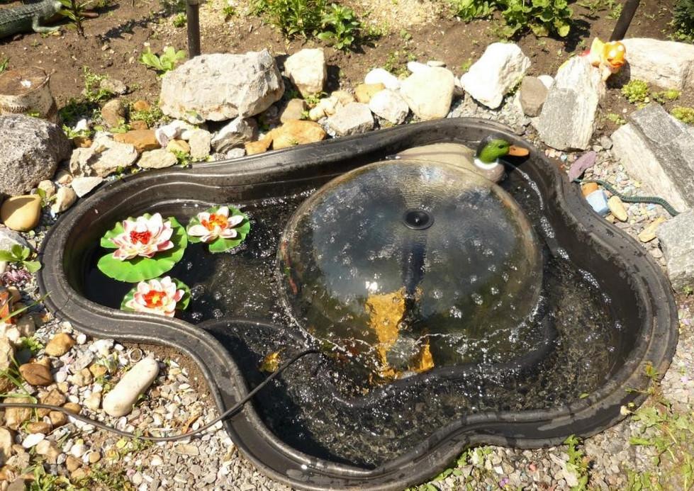 Diy Fountains in Gardens