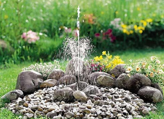 Diy garden fountain ideas pool design ideas for Garden feature ideas