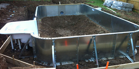 Diy inground concrete pool pool design ideas diy inground concrete pool solutioingenieria Images