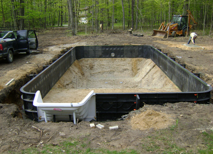 Diy inground pool images pool design ideas for Building an inground pool