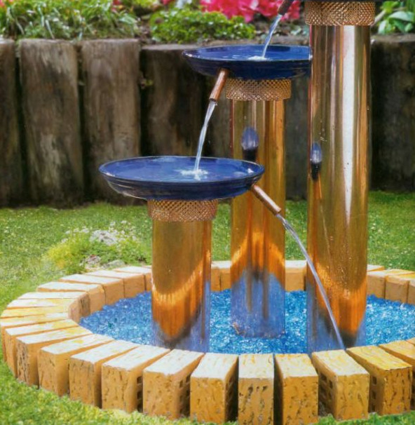 Diy ponds water features pool design ideas Home made water feature