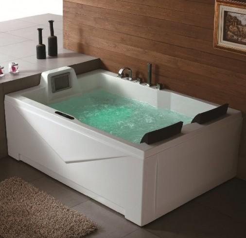 double jacuzzi tub