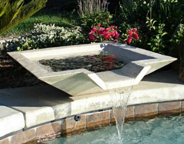 Front Yard Landscaping Ideas Water Fountain