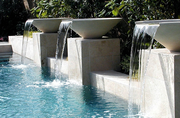 Swimming Pool Fountains : Garden pools fountains waterfalls pool design ideas