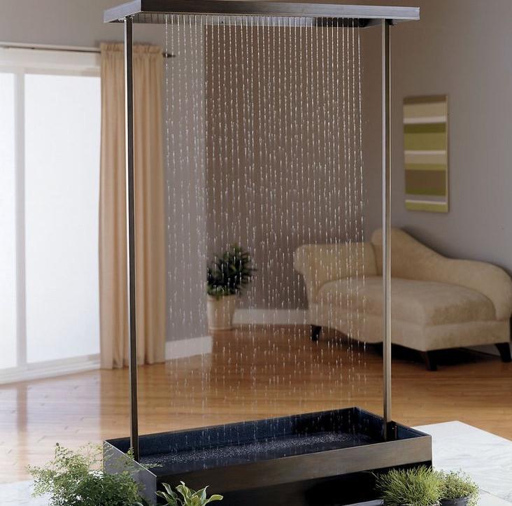 Home Indoor Waterfalls Pool Design Ideas