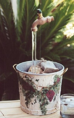 Homemade Fountain Ideas