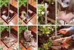 Homemade Garden Fountain Ideas
