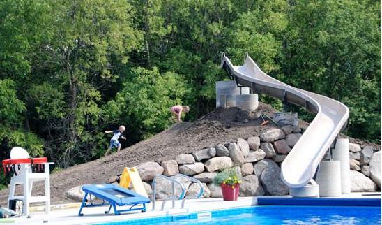Homemade Pool Slide Ideas