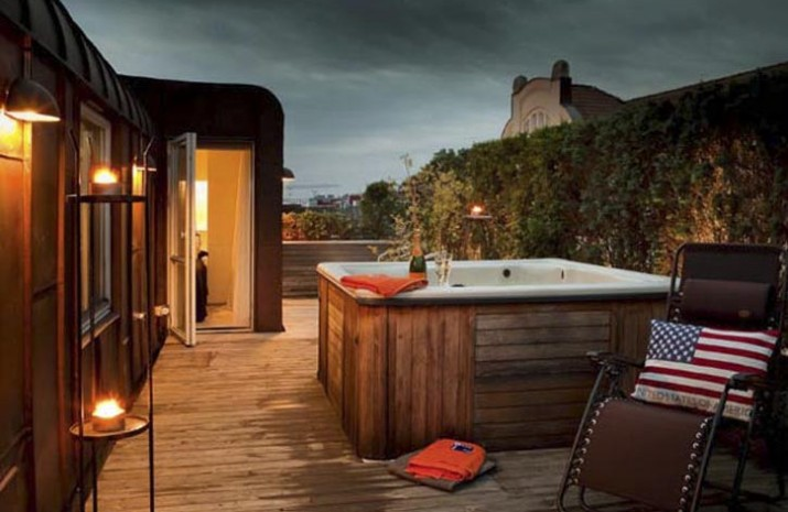 Hot Tub Outdoor Design