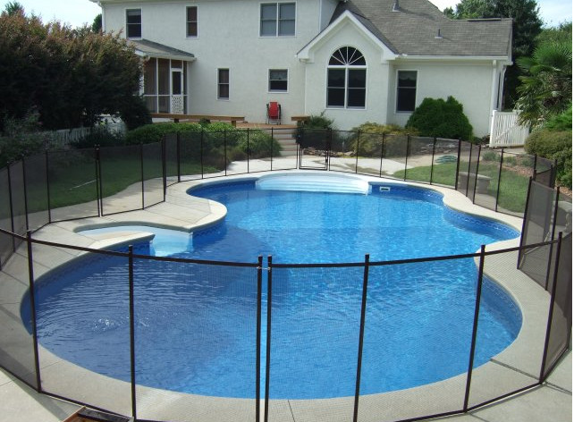In Ground Pool Fencing Pool Design Ideas
