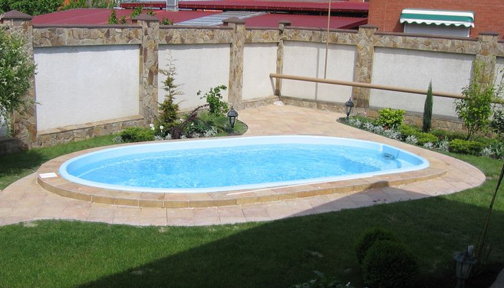 Small Yard Inground Swimming Pools : In ground pool ideas for small yards design