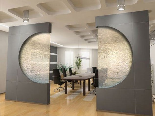 Indoor Wall Mounted Waterfalls | Pool Design Ideas
