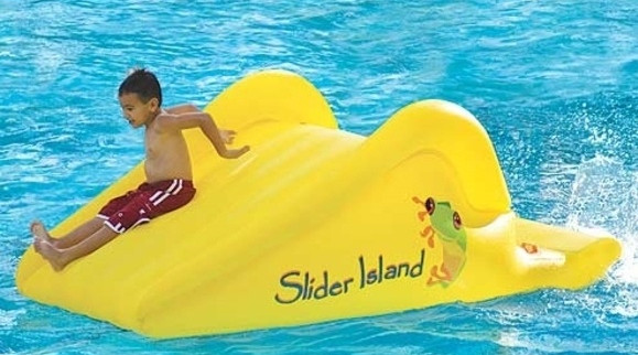 inflatable pool slides for above ground pools - Diy Above Ground Pool Slide