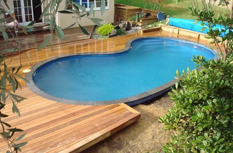 Inground or above ground pool pool design ideas for 12x24 pool design