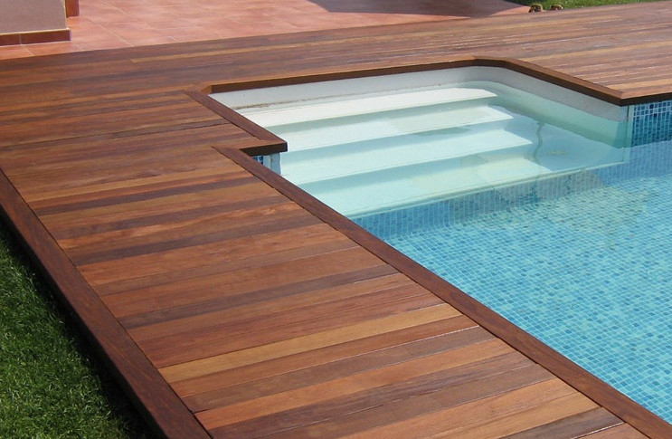inground pool deck designs pool design ideas