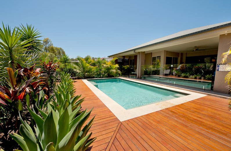Inground pool decking ideas pool design ideas for In ground pool deck ideas