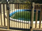 Inground Pool Fence Ideas