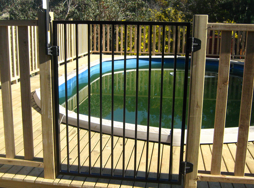 Inground pool fence ideas pool design ideas for In ground pool fence ideas