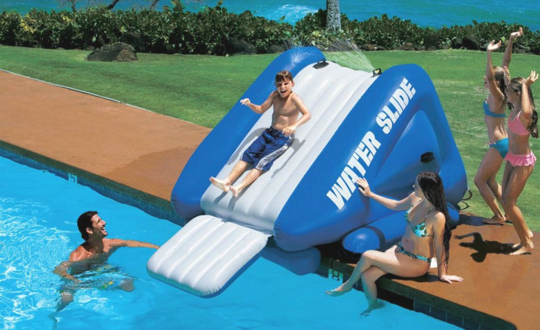 Inground Pool Water Slides