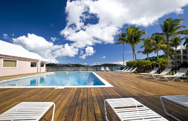 Inground Pool With Deck