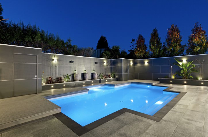 Inground Swimming Pool Landscaping Ideas